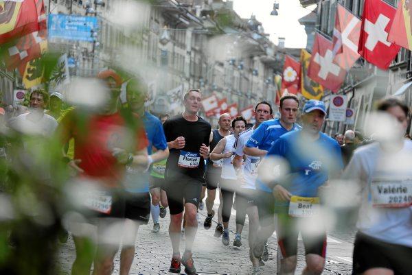 Grand-Prix von Bern: Lauf ueber Pflastersteine