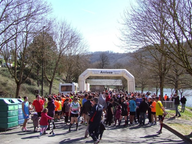 Arrivée 10km de Rodez 2014